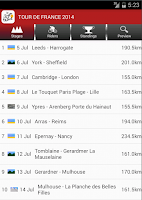 Screenshot of Info Cycling 2015
