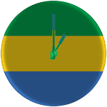Gabon Clock