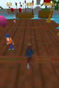 Blue Running Dude- screenshot thumbnail