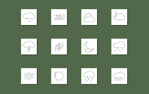 Chronus: Neeras Weather Icons screenshot 1