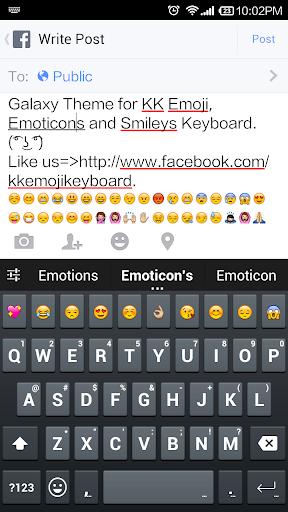 Galaxy S5 Keyboard - Emoji