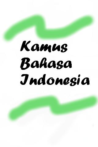 Kamus Bahasa Indonesia - screenshot