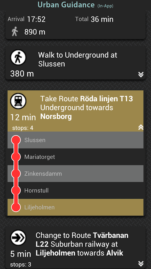 Garmin HUD Europe- screenshot