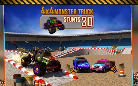 4x4 Monster Truck Stunts 3D 1.8 screenshot 641614