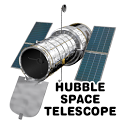 Hubble Space Telescope icon