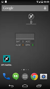 GPS Satellite Widget - screenshot thumbnail