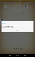 Screenshot of Word Search: Mystery Word
