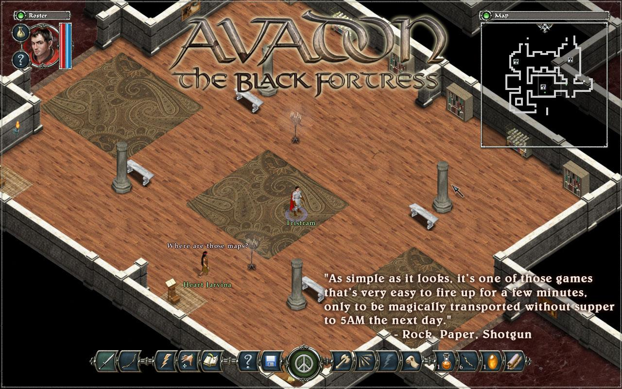 Demo Avadon The Black Fortress - screenshot