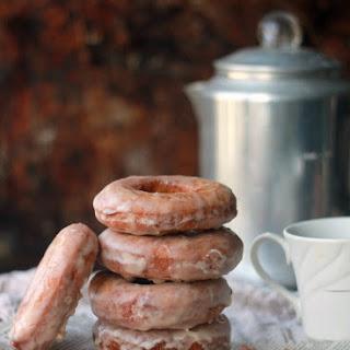 Cinnamon Cake Donuts with Cinnamon Glaze