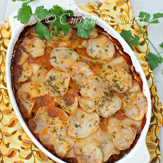 Scalloped Potato Cottage Pie #‎BloggerCLUE
