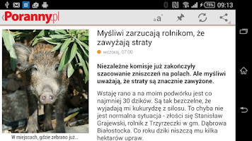 Screenshot of Kurier Poranny
