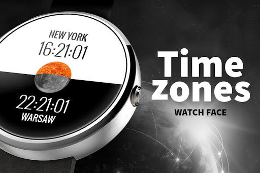 Time Zones - Watch Face