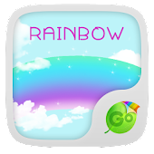 Rainbow GO Keyboard Theme