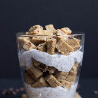 Vegan Chocolate Chip Cookie Dough Breakfast Parfait