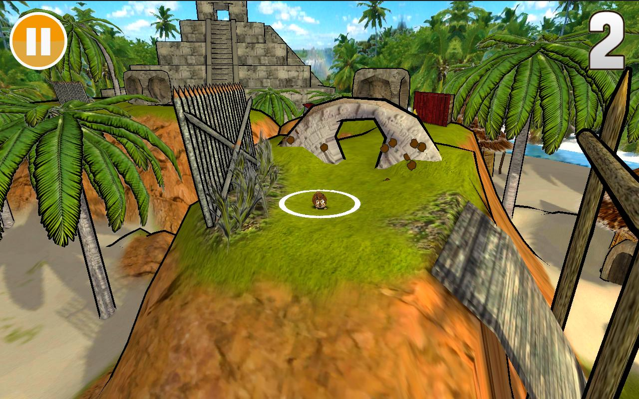 Armaroller Free (3D Mini Golf) - screenshot
