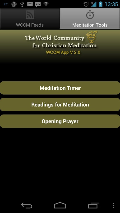 WCCM App 2 - screenshot