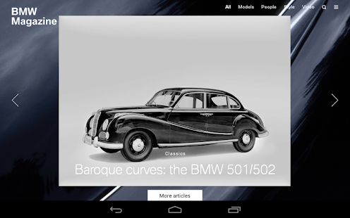 BMW Magazine- screenshot thumbnail
