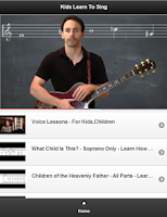 Screenshot of Kids Learn To Sing