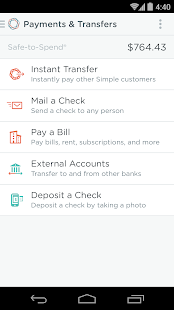 Simple - Better Banking - screenshot thumbnail