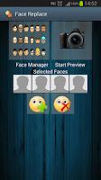 Screenshot of Face Replace