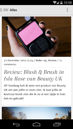 Blush Much