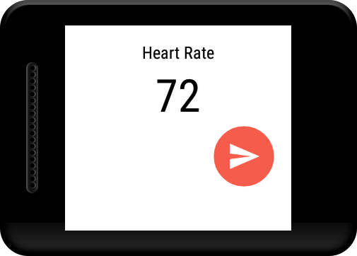 Heart Rate Tweet- screenshot