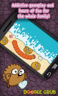 Doodle Grub - Twisted Snake- screenshot thumbnail