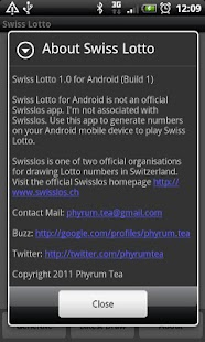 Swiss Lotto - screenshot thumbnail