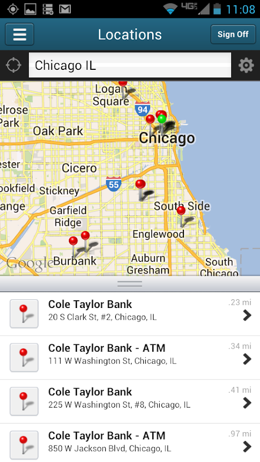 Cole Taylor Mobile - screenshot