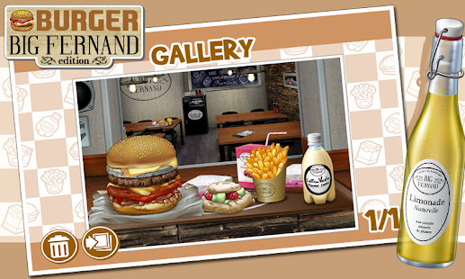 Burger - Big Fernand- screenshot thumbnail