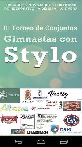 Gimnastas con Stylo 2014