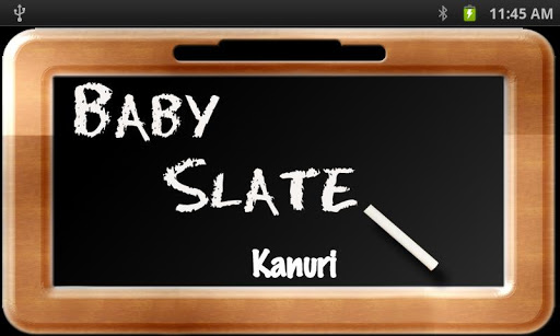 Baby Slate - Kanuri