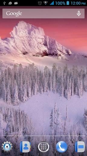 冬天動態壁紙