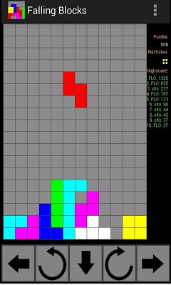 Falling Blocks - screenshot