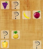 Screenshot of Match Up Fruits