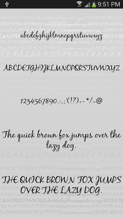 Fonts script for flipfont free android apps on google play