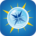Mineralwasserkompass icon