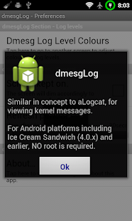 Dmesg Log Viewer- screenshot thumbnail