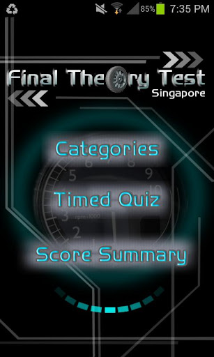 Final Theory Test SG Lite