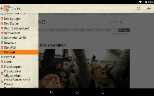 Deutsche Zeitungen- screenshot thumbnail