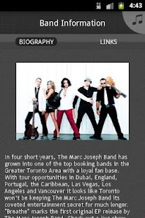 The Marc Joseph Band - screenshot thumbnail