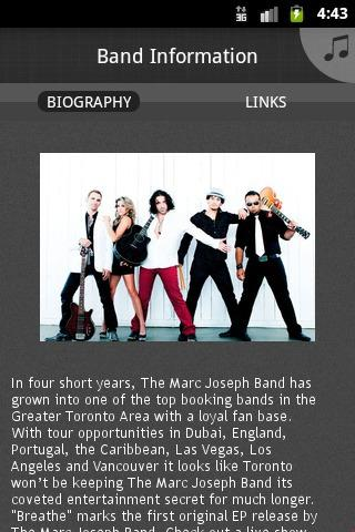 The Marc Joseph Band - screenshot