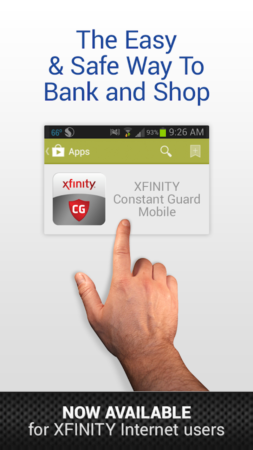 XFINITY Constant Guard Mobile - screenshot