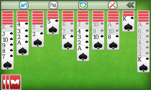 Spider Solitaire 1.0.9 screenshots 8
