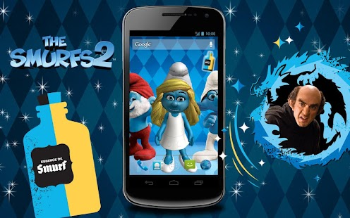 The Smurfs 2 3D Live Wallpaper- screenshot thumbnail