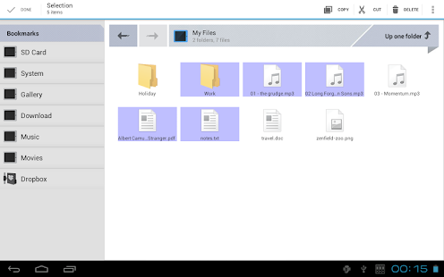 Zenfield File Manager Ads - screenshot thumbnail