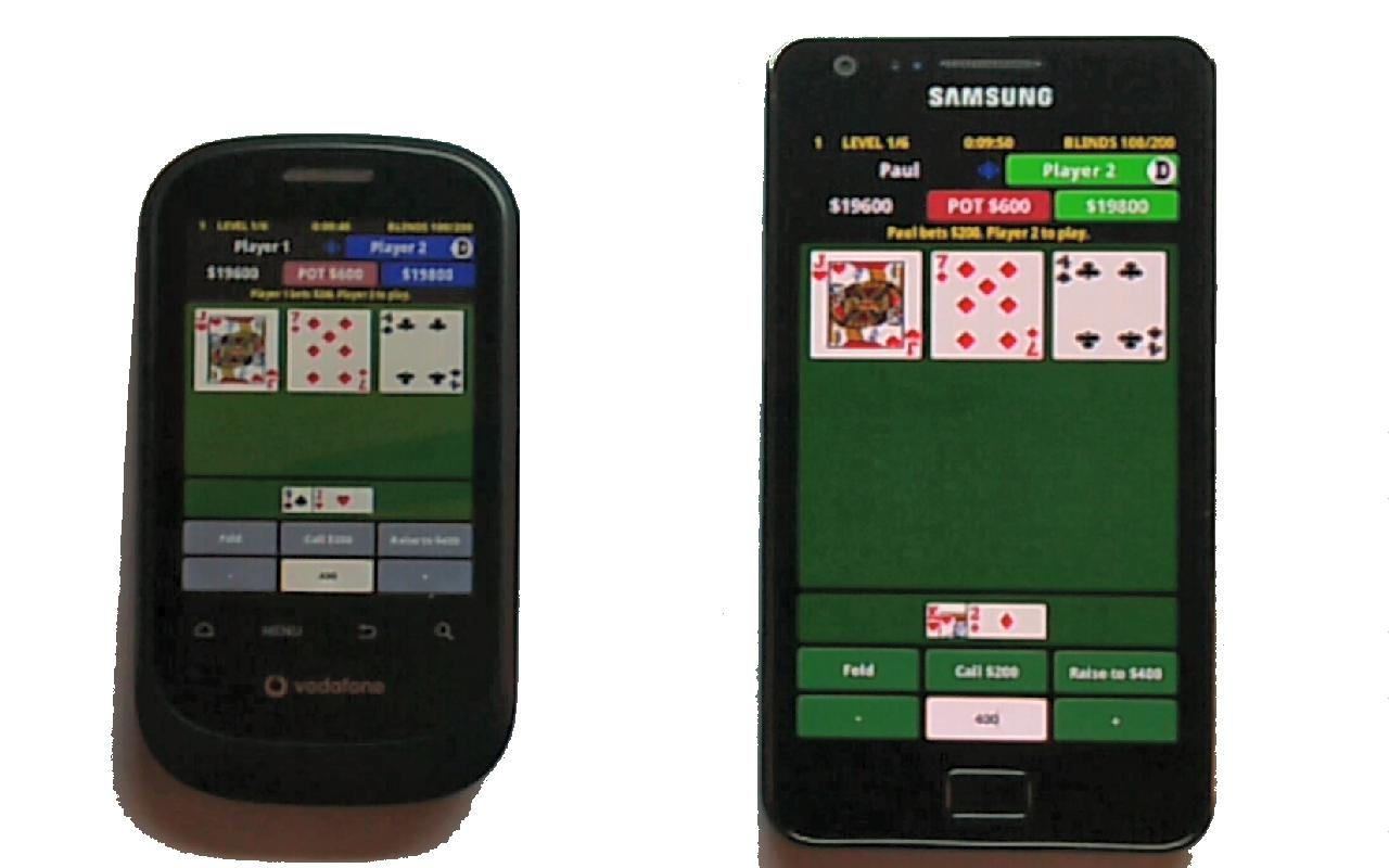 Headsup Holdem Poker - screenshot