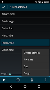 Clean Music Player - screenshot thumbnail