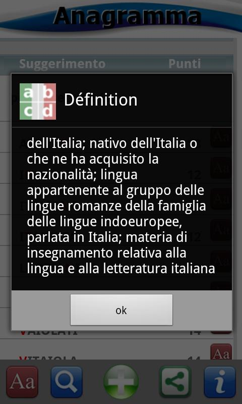 enigmWord Italiano - screenshot