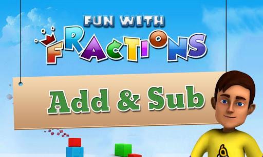 Math Fun Fractions : Add Sub